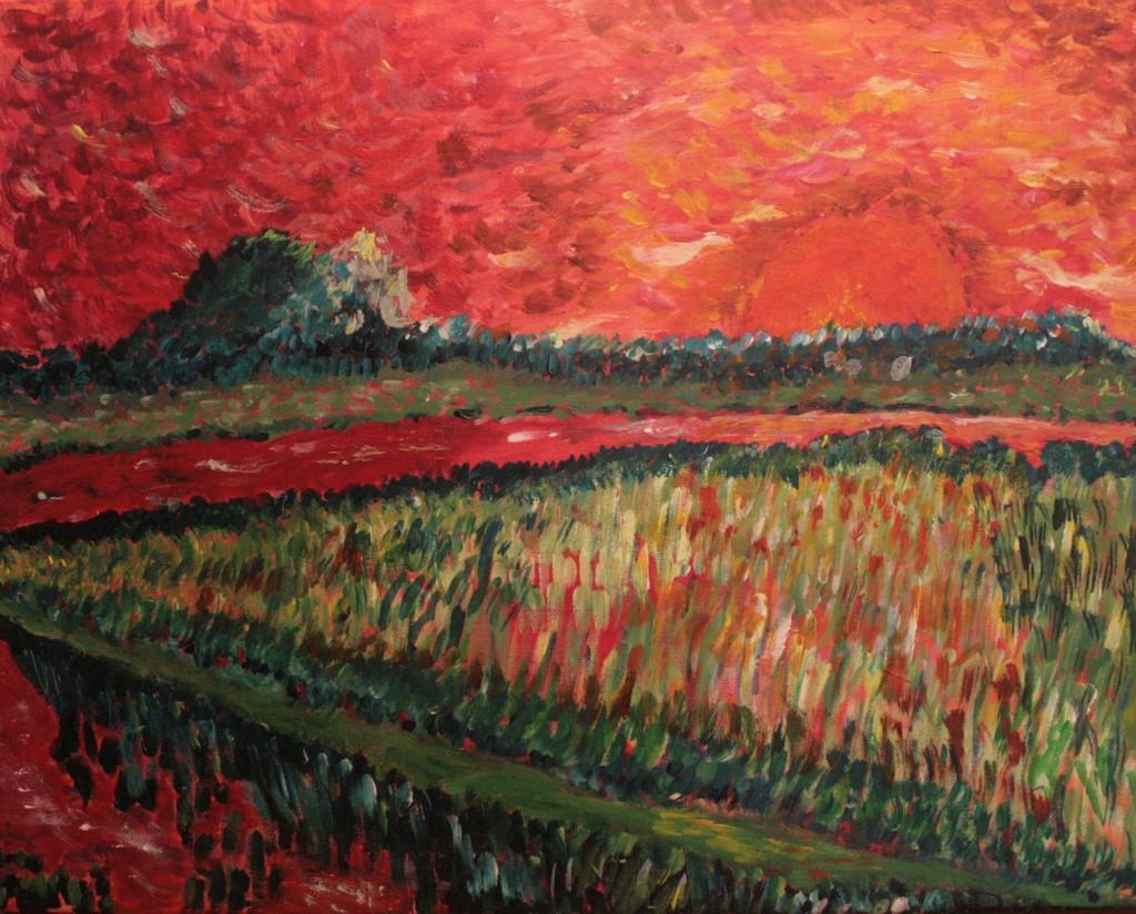 Acryl op doek 50x40 cm
