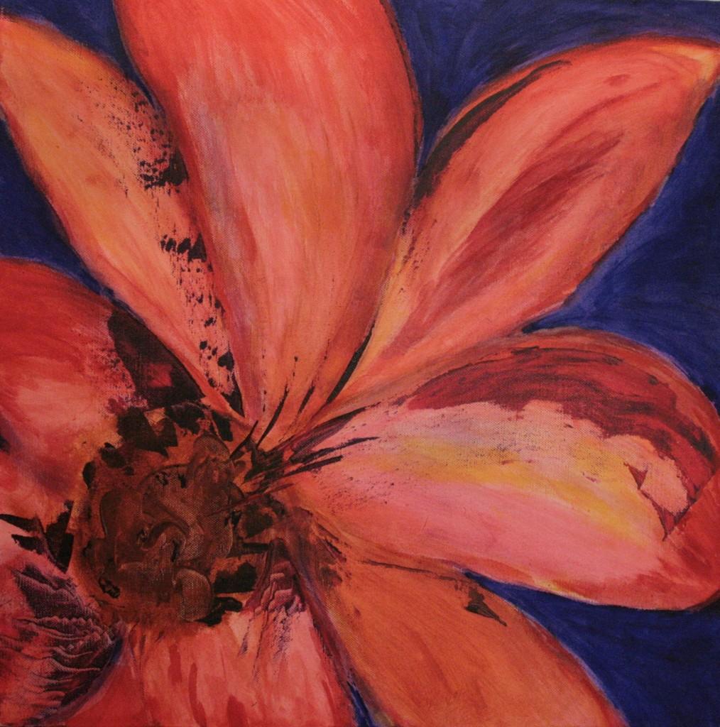 Acryl op doek 50x50 cm