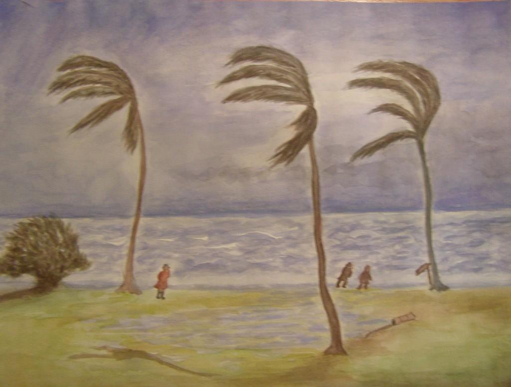 Aquarel 30 x 40 cm