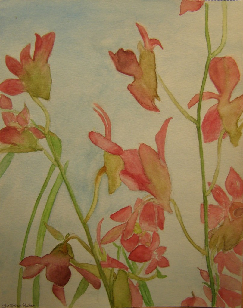 Aquarel 24 x 30 cm