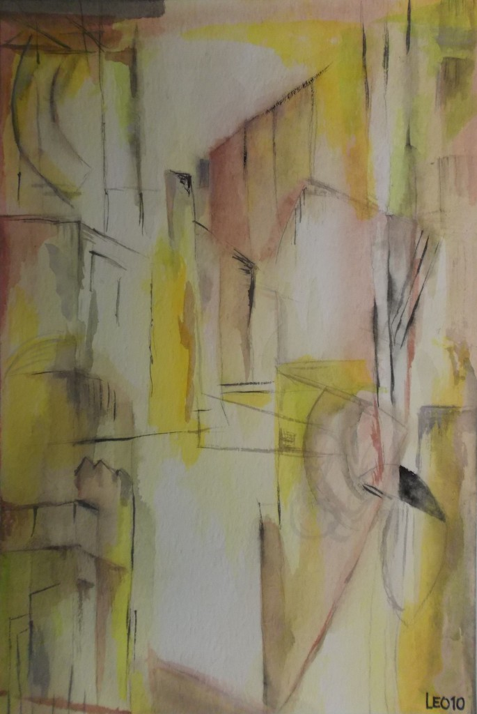 aquarel, 20 x 30 cm
