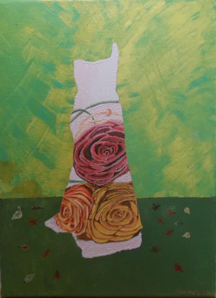 Acryl op doek, 30 x 40 cm