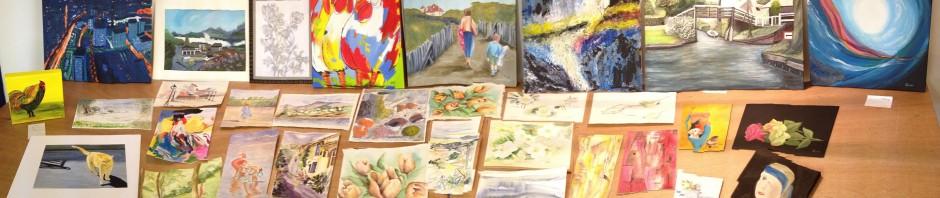 Panorama van de werken