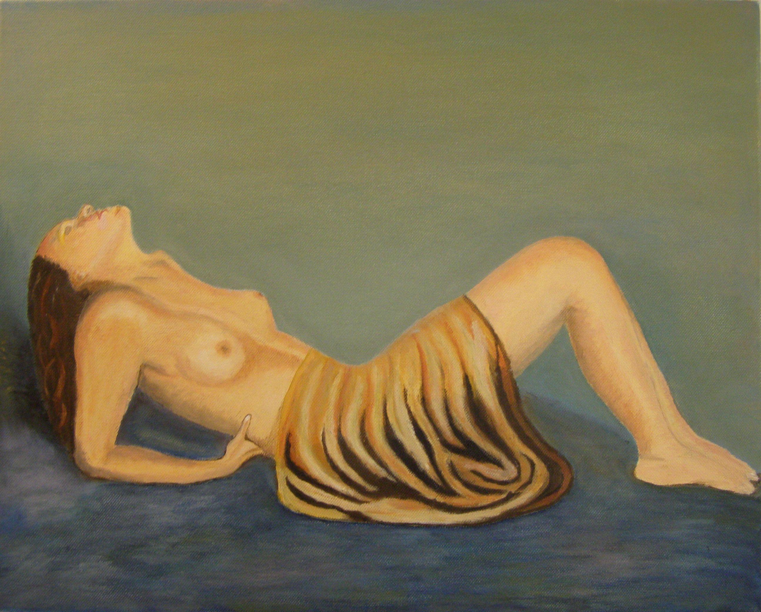 Olieverf op doek, 40 x 50 cm