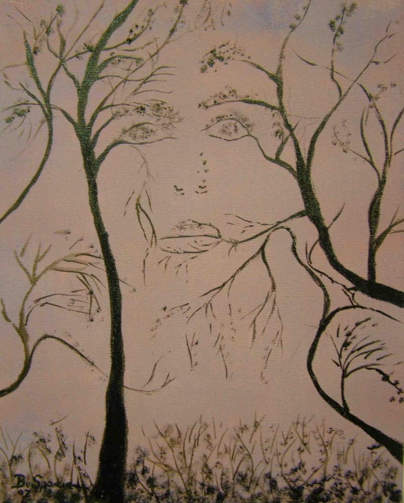 Olieverf op doek, 24 x 30 cm