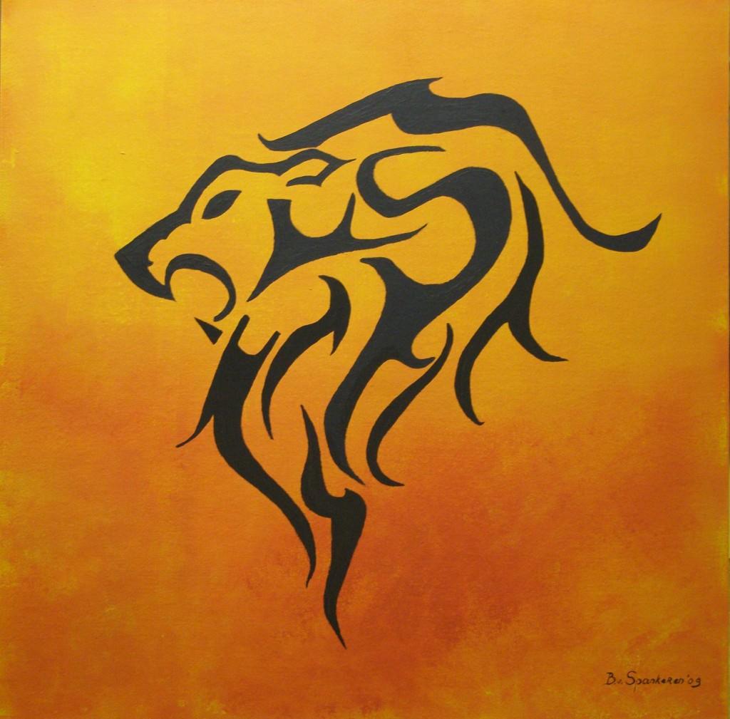 Acryl op doek, 60 x 80 cm