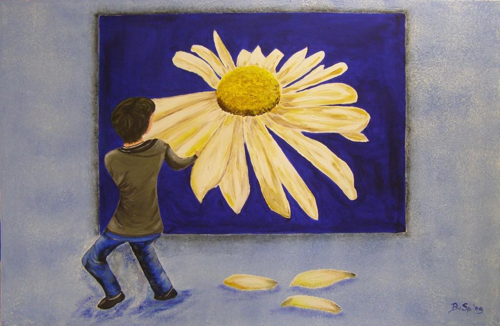 Acryl op doek, 75 x 115 cm