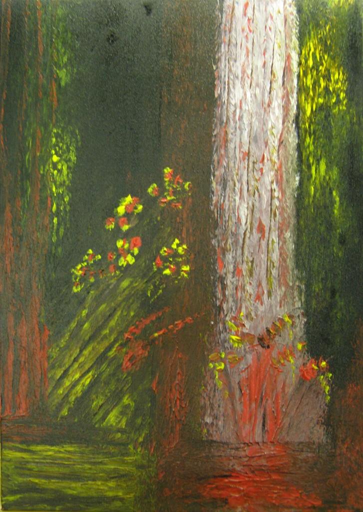 Acryl op doek, 50 x 70 cm