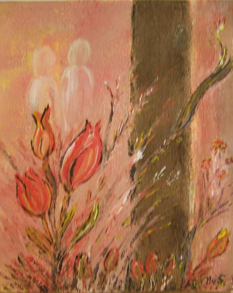 Acryl op doek, 40 x 60 cm