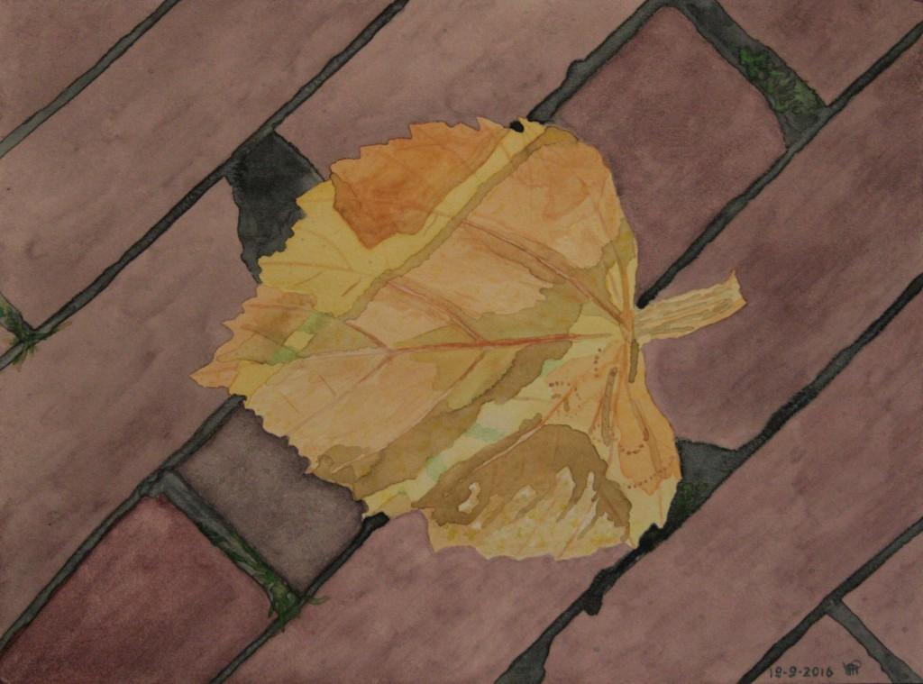 Aquarel op papier 40x30 cm
