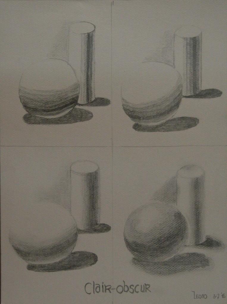 potlood op papier 28x21 cm