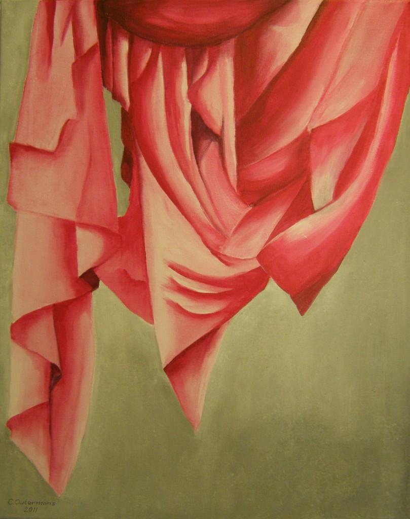 Acryl op doek 40 x 50 cm