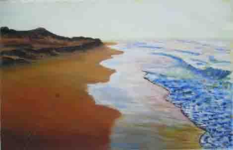 Zee achter de duinen