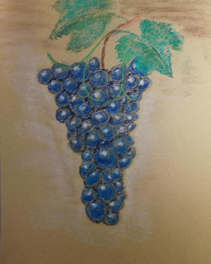 Pastelkrijt, 30 x 40 cm