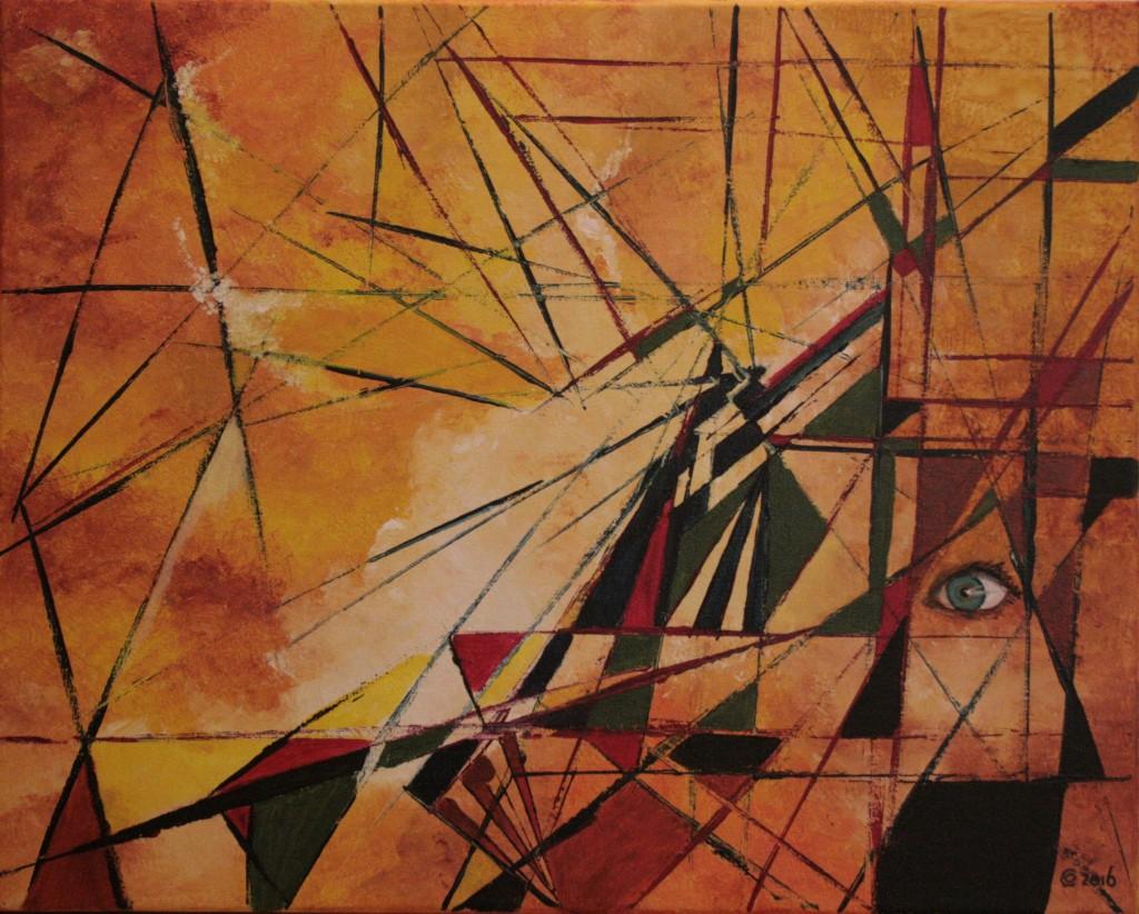 acryl op doek 40x50 cm