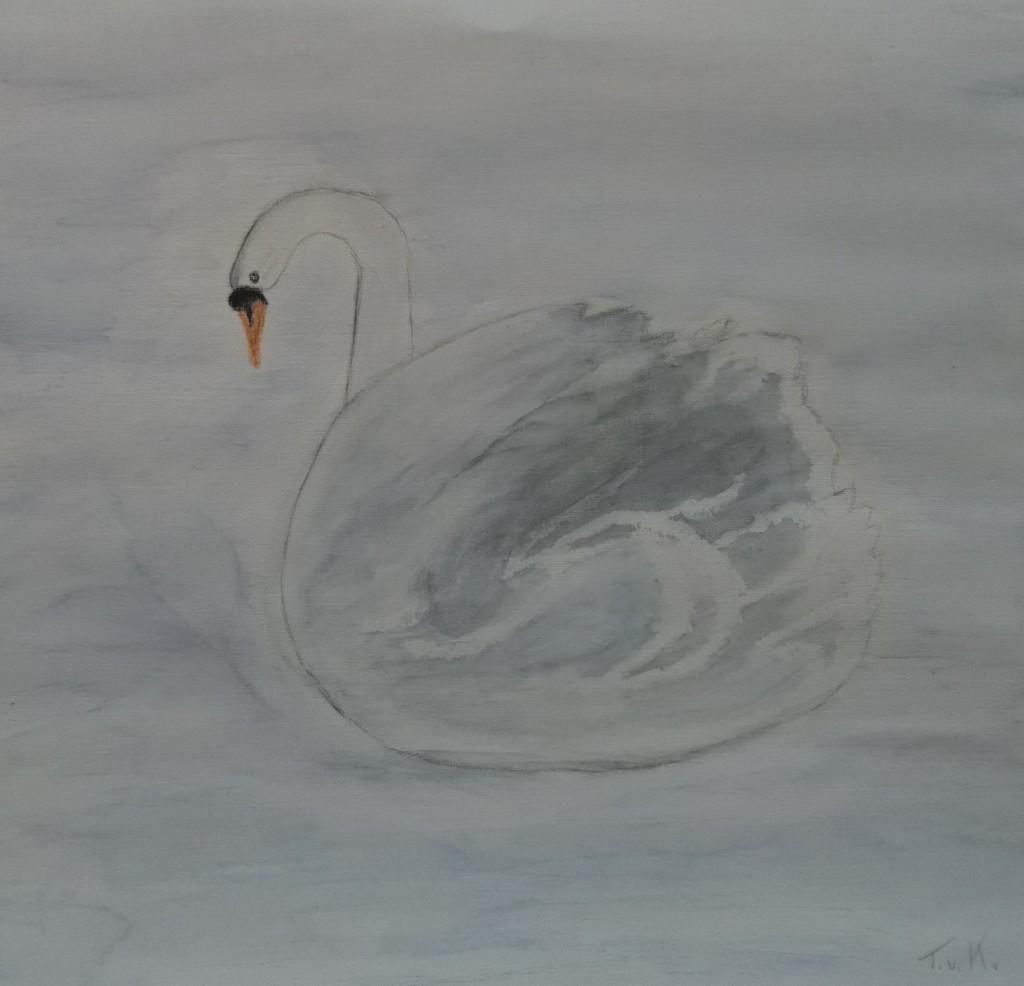 aquarel, 30 x 30 cm