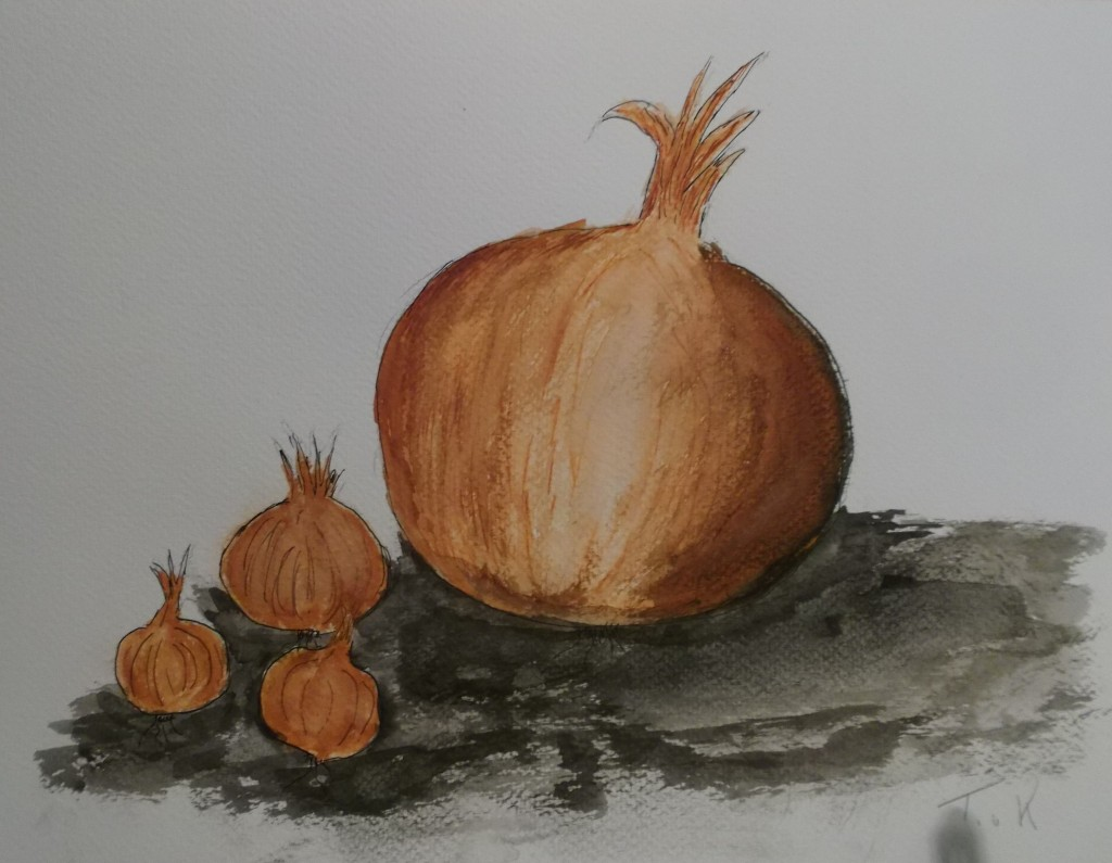 aquarel, 24 x 30 cm